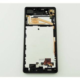 Sony Xperia X F5121 LCD Display Modul, Graphite Black, 1302-4791