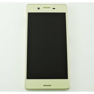 Sony Xperia X F5121 LCD Display Modul, Lime Gold, 1302-4798