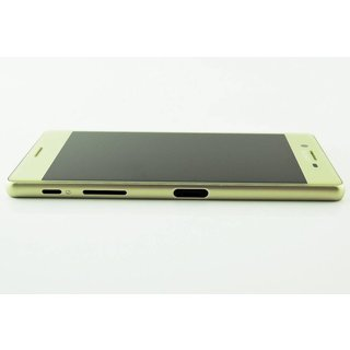 Sony Xperia X F5121 LCD Display Module, Lime Gold, 1302-4798