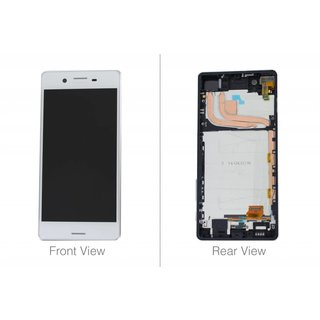 Sony Xperia X Performance F8131 LCD Display Modul, Weiß, 1302-3675
