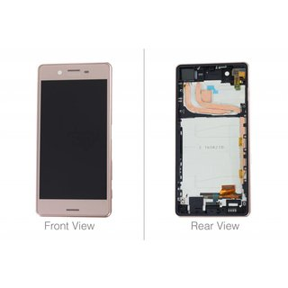Sony Xperia X Performance F8131 LCD Display Modul, Rose Gold, 1302-3696