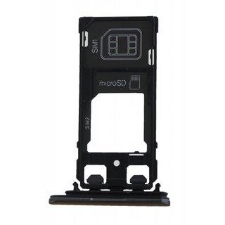 Sony Xperia X Performance Dual F8132 Simkarten Halter, Graphite Black, 1302-3713
