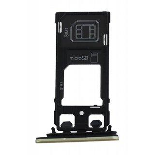 Sony Xperia X Performance Dual F8132 Simkarten Halter, Lime Gold, 1302-3715