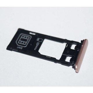 Sony Xperia X Dual F5122 Sim Card Tray Holder, Rose Gold, 1302-4838