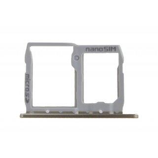 LG H850 G5 Sim Card Tray Holder, Gold, ABN74959014