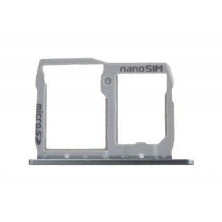 LG H850 G5 Sim Card Tray Holder, Silver, ABN74959011