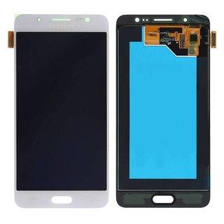 Samsung J510F Galaxy J5 2016 LCD Display Modul, Weiß, GH97-18792C