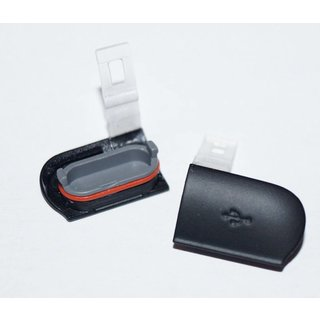 Sony Ericsson Xperia Active ST17i USB Cover Zwart 1248-4170