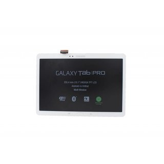 Samsung Galaxy TabPRO 10.1 SM-T520 LCD Display Module, White, GH97-15539A