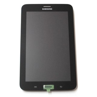 Samsung Galaxy Tab 3 Lite 7.0 3G T111 LCD Display Module, Black, GH97-15548B