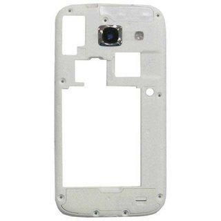Samsung I8262 Galaxy Core Middenbehuizing, Wit, GH98-27139B