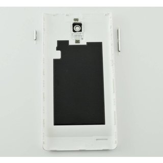 Huawei Ascend P1 Battery Cover White