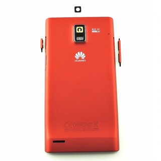 Huawei Ascend P1 Battery Cover Red