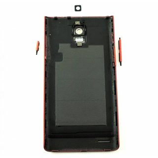 Huawei Ascend P1 Accudeksel Rood