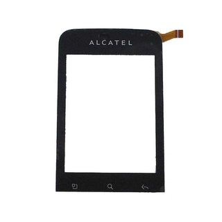 Alcatel OT-903D Touchscreen Display Zwart