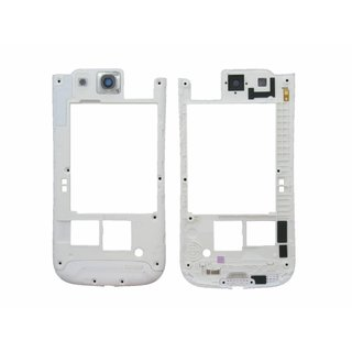 Samsung Galaxy S3 i9300 Middle Cover GH98-23341B White