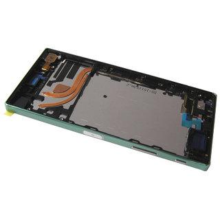 Sony Xperia Z5 Premium Dual E6883 LCD Display Modul, Chrom Silber, 1299-0683