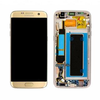 Samsung G935F Galaxy S7 Edge Lcd Display Module, Goud, GH97-18533C