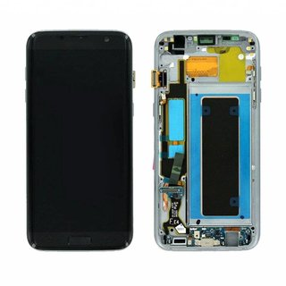 Samsung G935F Galaxy S7 Edge LCD Display Module, Black, GH97-18533A;GH97-18767A
