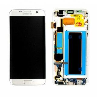 Samsung G935F Galaxy S7 Edge LCD Display Modul, Silver, GH97-18533B