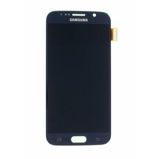 Samsung G920F Galaxy S6 LCD Display Module, Black, GH97-17260A