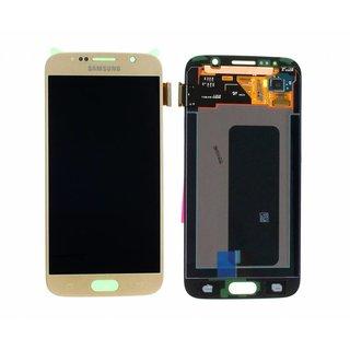 Samsung G920F Galaxy S6 LCD Display Module, Gold, GH97-17260C