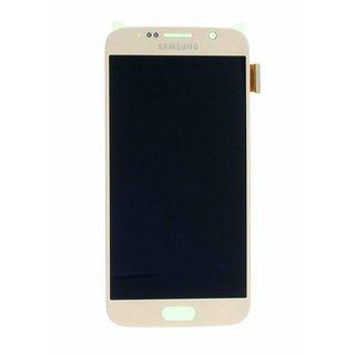 Samsung G920F Galaxy S6 Lcd Display Module, Goud, GH97-17260C