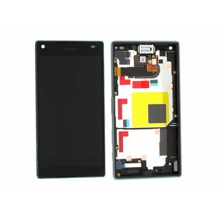 Sony Xperia Z5 Compact E5803 LCD Display Module, Black, 1297-3728