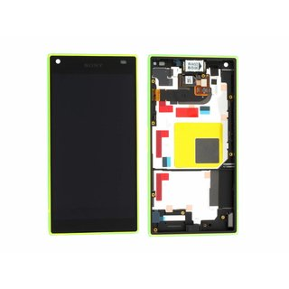 Sony Xperia Z5 Compact E5803 LCD Display Module, Yellow, 1297-3733