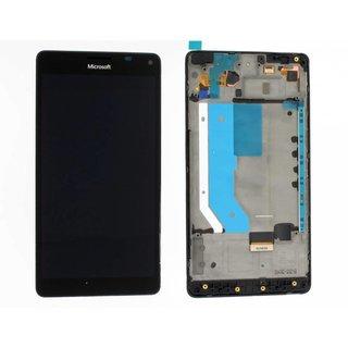 Microsoft Lumia 950 XL LCD Display Modul, Schwarz, 00813X2, For white and black phone