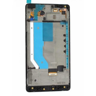 Microsoft Lumia 950 XL Lcd Display Module, Zwart, 00813X2, For white and black phone