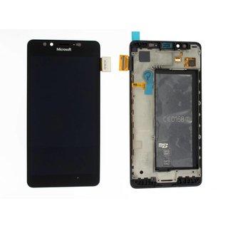 Microsoft Lumia 950 LCD Display Modul, Schwarz, 00814D7