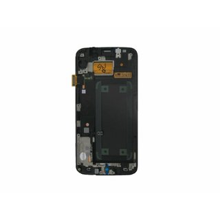 Samsung G925F Galaxy S6 Edge LCD Display Modul, Weiß, GH97-17162B
