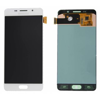 Samsung A510F Galaxy A5 2016 LCD Display Module, White, GH97-18250A