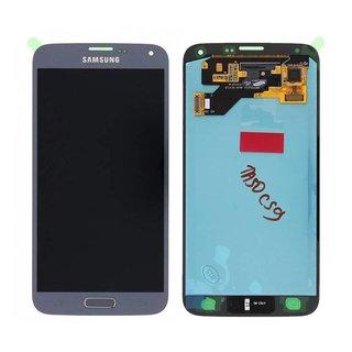 Samsung G903F Galaxy S5 Neo Lcd Display Module, Zilver, GH97-17787C