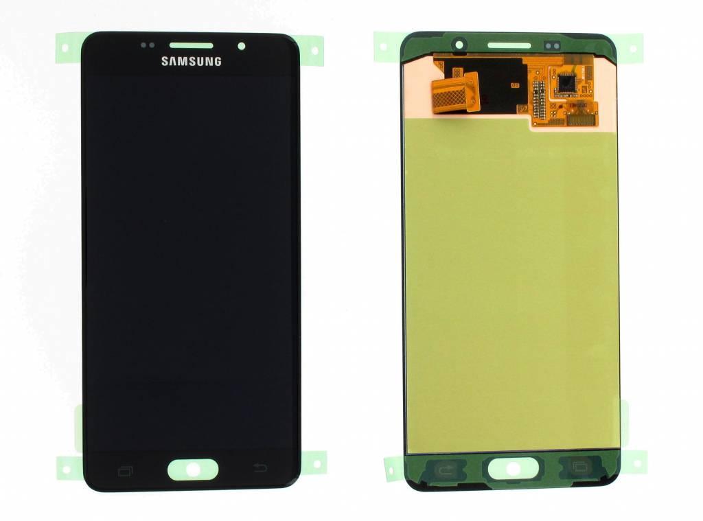 Samsung LCD Display Modul A510F Galaxy A5 2016, Schwarz, GH97-18250B