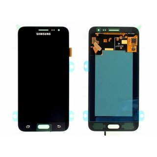 Samsung J320F Galaxy J3 2016 LCD Display Module, Black, GH97-18414C;GH97-18748C