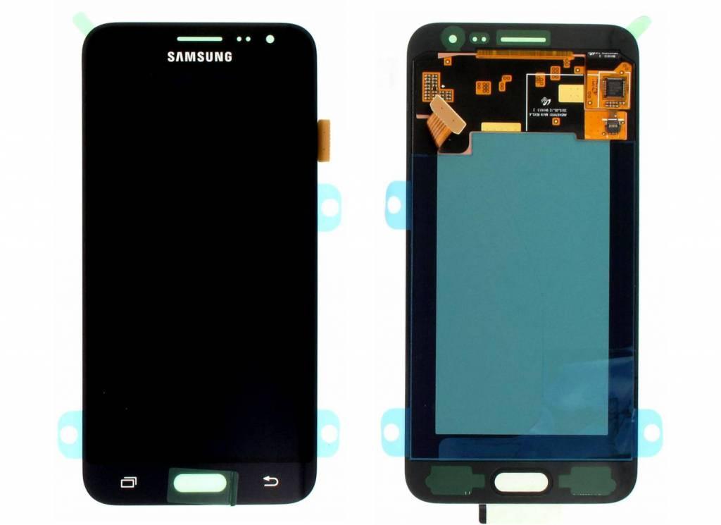 samsung j320f galaxy j3 2016 lcd display module black gh97 18414c gh97 18748c dutchspares. Black Bedroom Furniture Sets. Home Design Ideas