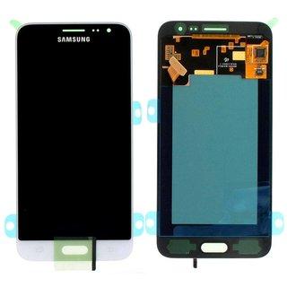 Samsung J320F Galaxy J3 2016 LCD Display Modul, Weiß, GH97-18414A