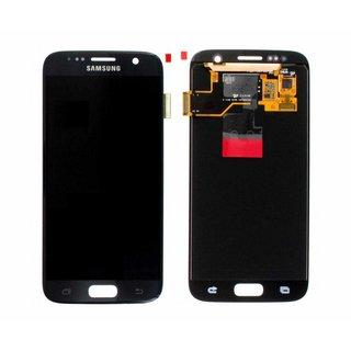 Samsung G930F Galaxy S7 Lcd Display Module, Zwart, GH97-18523A
