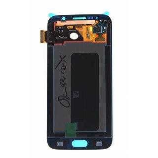 Samsung G920F Galaxy S6 Lcd Display Module, Blauw, GH97-17260D
