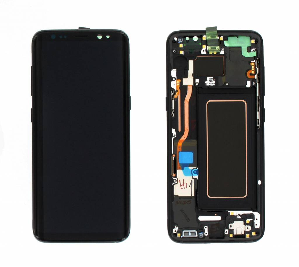 Samsung Scherm Lcd Display Module G950F Galaxy S8, Midnight Black, GH97-20457A;GH97-20473A