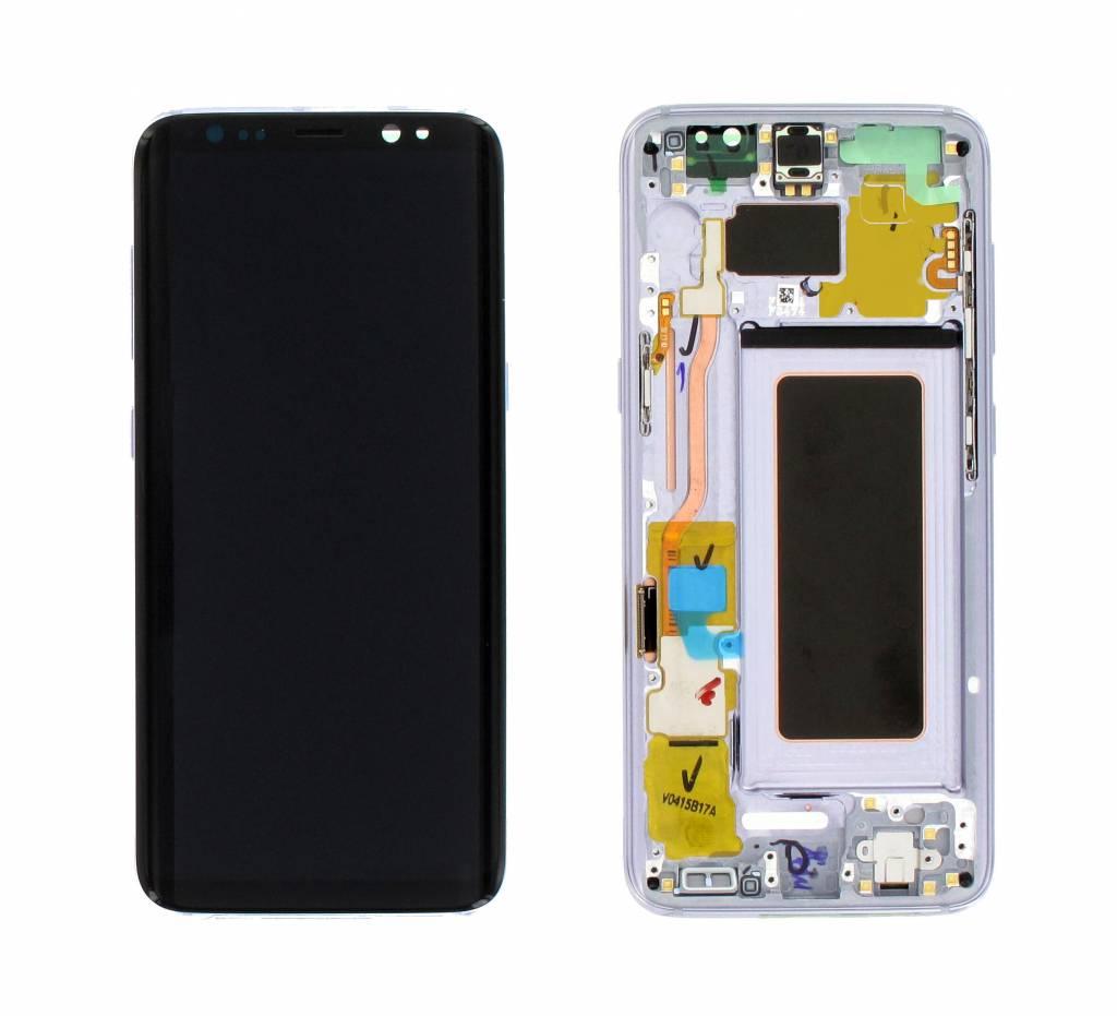 Samsung Scherm Lcd Display Module G950F Galaxy S8, Orchid Gray, GH97-20457C;GH97-20473C