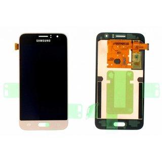 Samsung J120F Galaxy J1 2016 LCD Display Modul, Gold, GH97-18224B