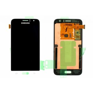 Samsung J120F Galaxy J1 2016 LCD Display Modul, Weiß, GH97-18224A