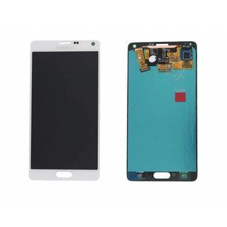 Samsung N910F Galaxy Note 4 LCD Display Module, White, GH97-16565A