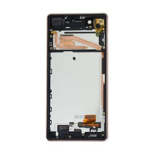 Sony Xperia X F5121 LCD Display Modul, Rose Gold, 1302-4799