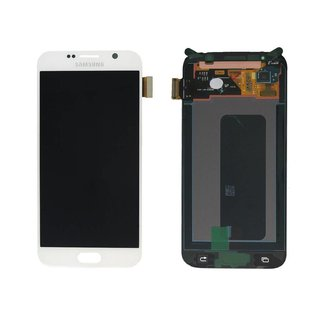 Samsung G920F Galaxy S6 Lcd Display Module, Wit, GH97-17260B