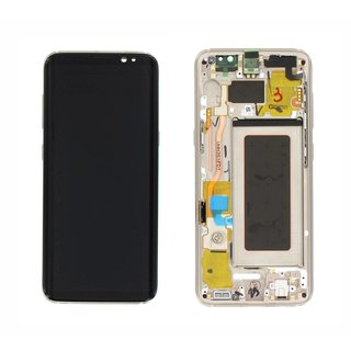 Samsung G950F Galaxy S8 Bildschirm LCD Display Modul, Gold, GH97-20457F;GH97-20473F