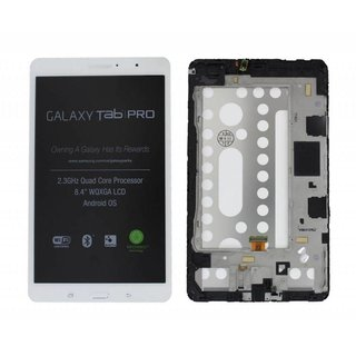 Samsung Galaxy TabPRO 8.4 T320 LCD Display Module, White, GH97-15556A